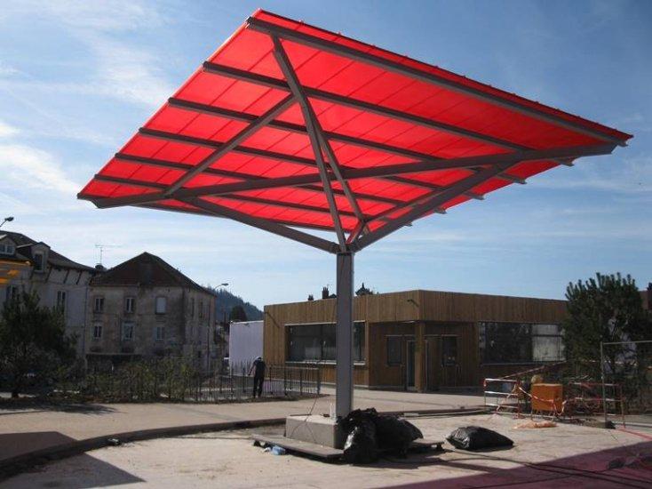 auvents parapluie m tallique 88200 remiremont framatec. Black Bedroom Furniture Sets. Home Design Ideas